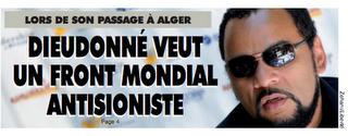 Dieudonné : «La culture juive domine la scène française»