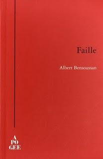 Faille, d'Albert Bensoussan