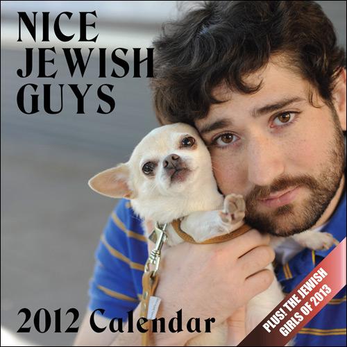 Le calendrier Nice Jewish Guys 2012 est arrivé !