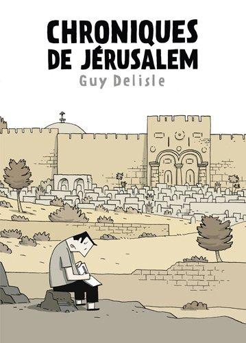 Chroniques de Jérusalem, la BD