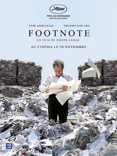 Footnote, de Joseph Cédar