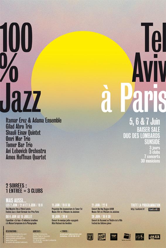 Festival 100% Tel Aviv Jazz à Paris, 3 soirées à ne pas manquer !