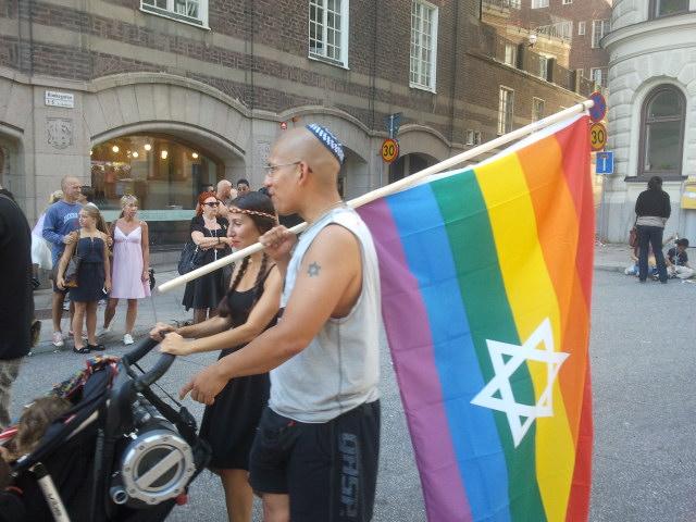 Jewish Gay Pride à Stockholm