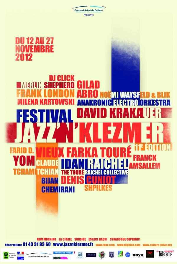 Le 11ème festival Jazz'n'Klezmer décolle !