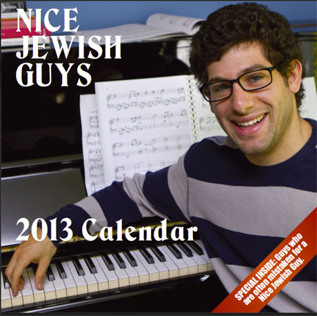 Le Nice Jewish Guys Calendar 2013 est arrivé !