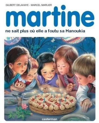 Martine fait Hanouka