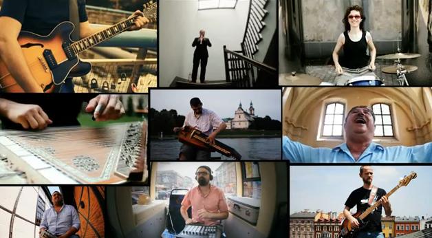 Jewpop vidéo : Kutiman fait groover Cracovie