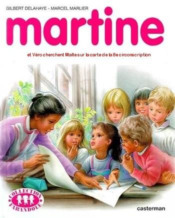 Martine fait Véronique Genest
