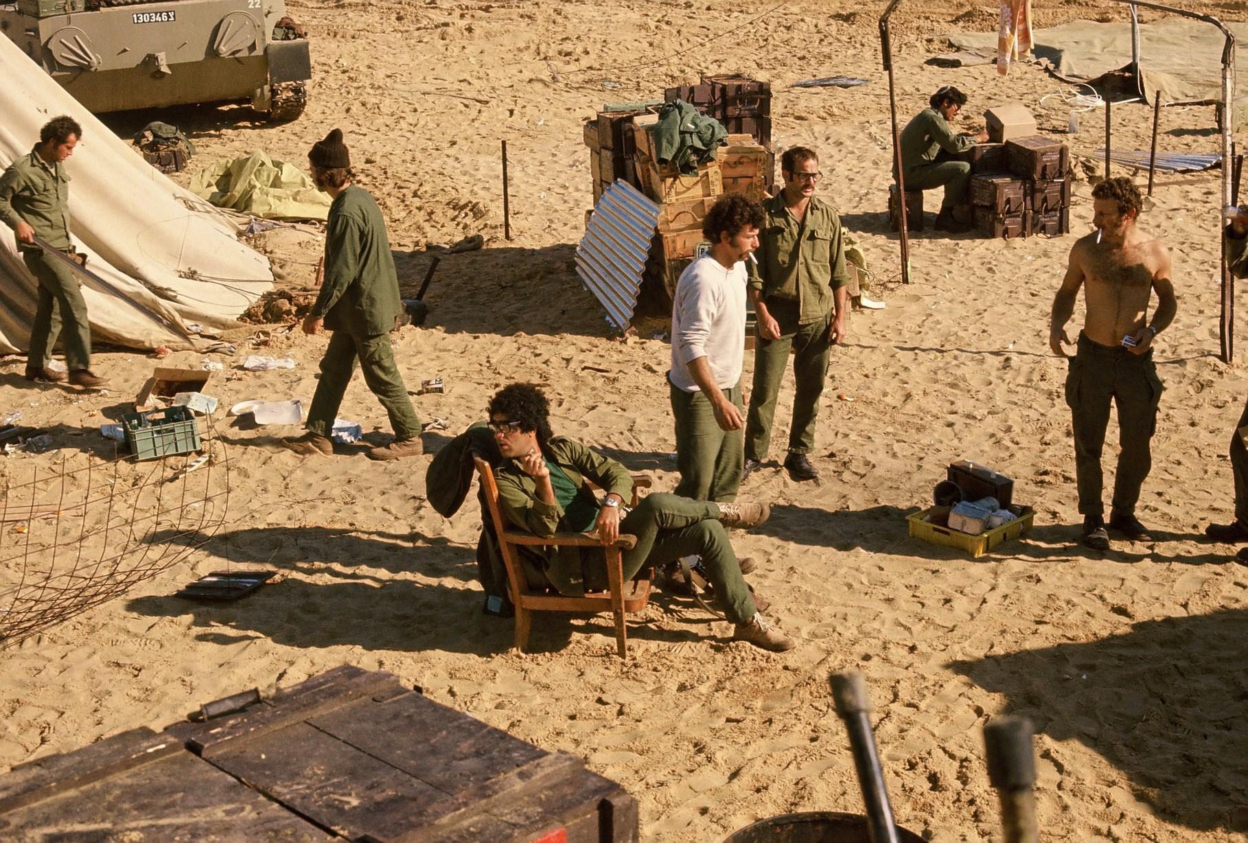 Des photos inédites de la guerre du Kippour (1)