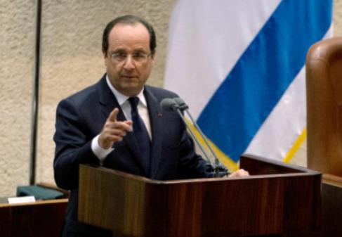 L'à-peu-près discours de François Hollande à la Knesset