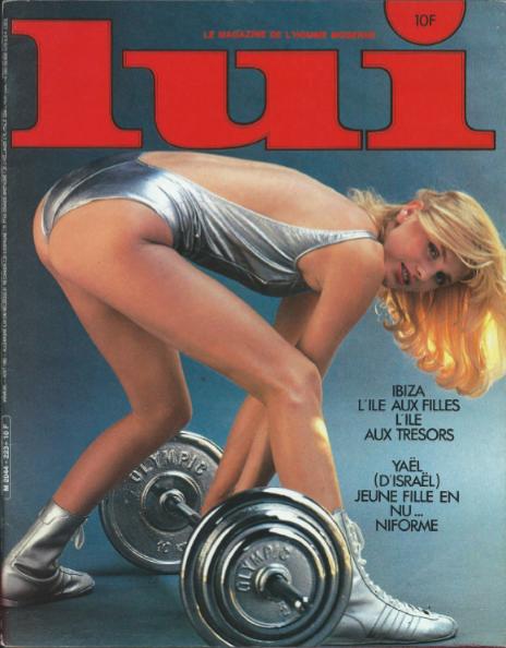 Couverture du magazine LUI août 1982