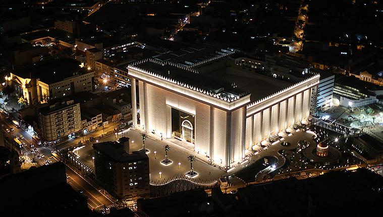 Le Temple de Salomon renaît au Brésil