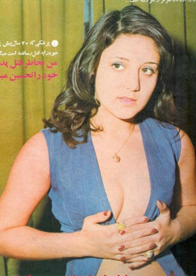 Photo représentant une femme en Iran dans les annes 70 Jewpop