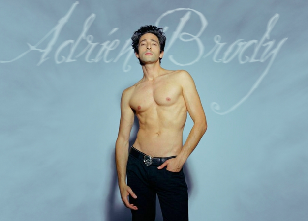 Adrien Brody, sexy body