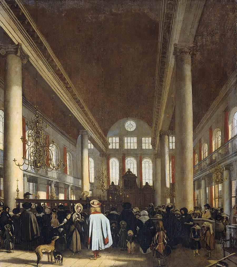 De Witte. Synagogue d'Amsterdam