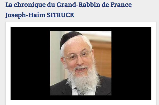 L'homophobie du rabbin Sitruk sur Radio J