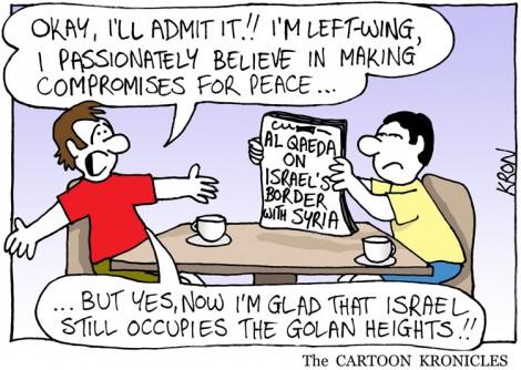La presque-gauchiste et la vraie sioniste