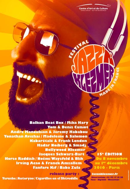 15ème Festival Jazz'N'Klezmer : demandez le programme