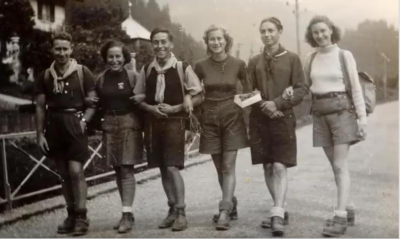 Maoz tsour, chanté par les Éclaireurs Israélites de France avant la guerre