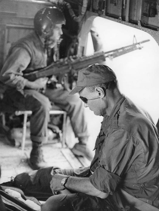 Quand Moshe Dayan était correspondant de guerre au Vietnam