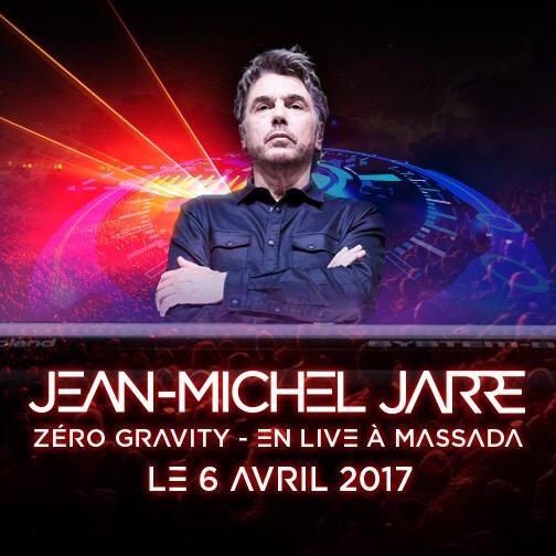 Jean-Michel Jarre </BR>en concert à Massada, l'interview Jewpop