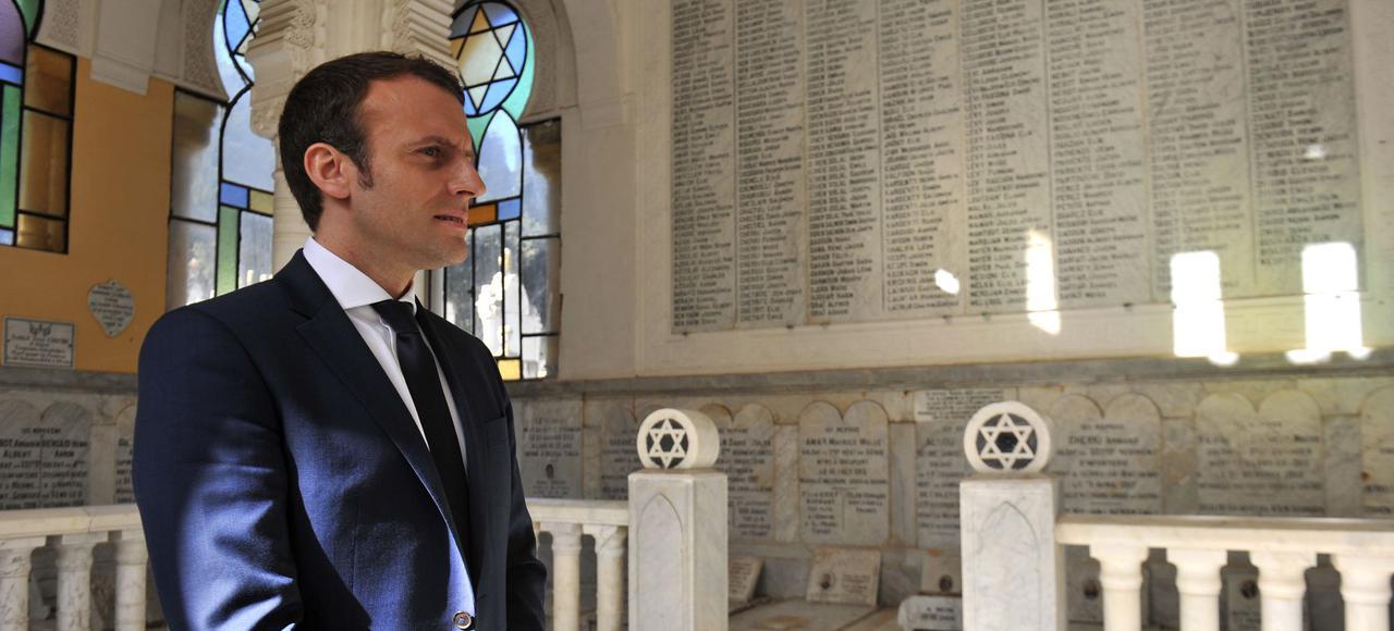 Macron et les Juifs, l'interview