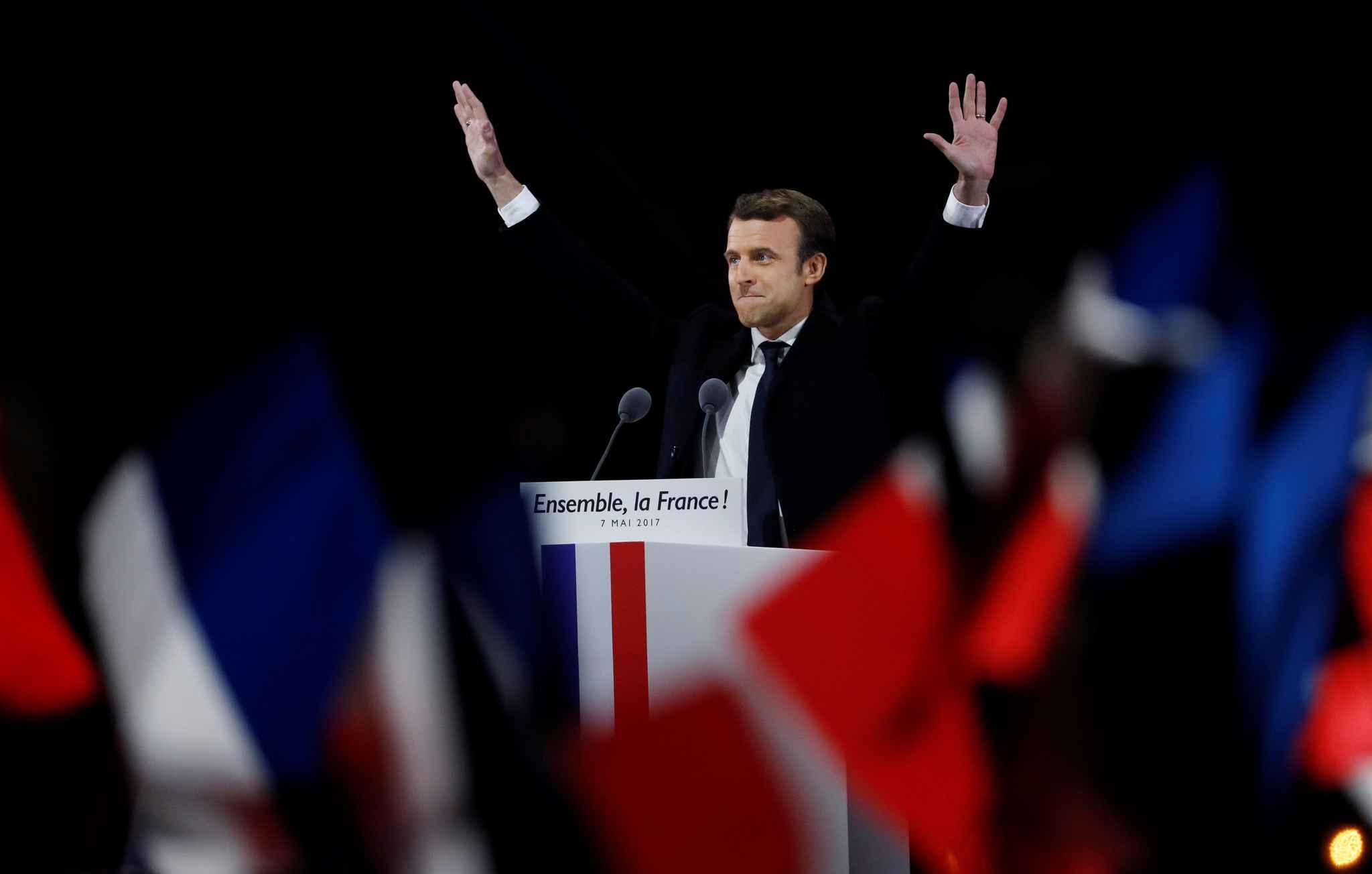Exclusif ! </br>Les télégrammes reçus par le Président Macron